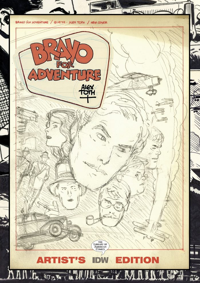 Alex Toth's Bravo for Adventure Artist's Edition