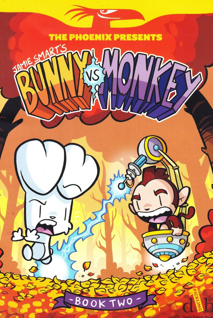 Bunny vs Monkey Book Two: Journey to the Centre of the Eurg-th