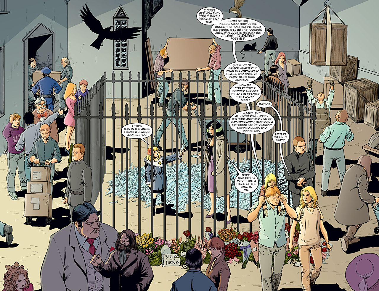 Fables Deluxe Edition 14 review