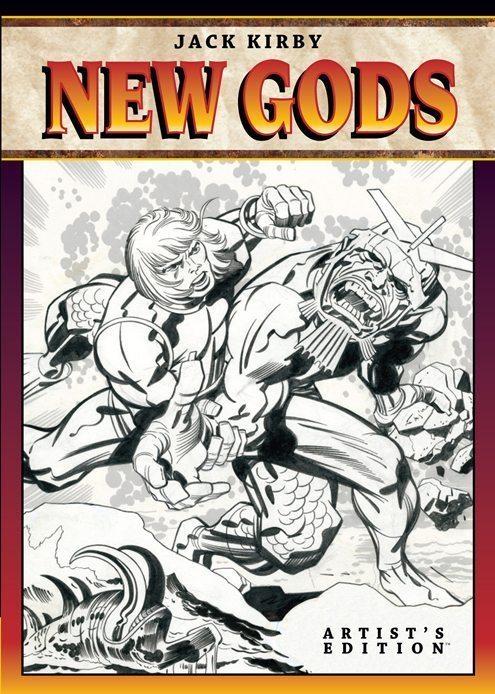 Jack Kirby New Gods: Artist's Edition