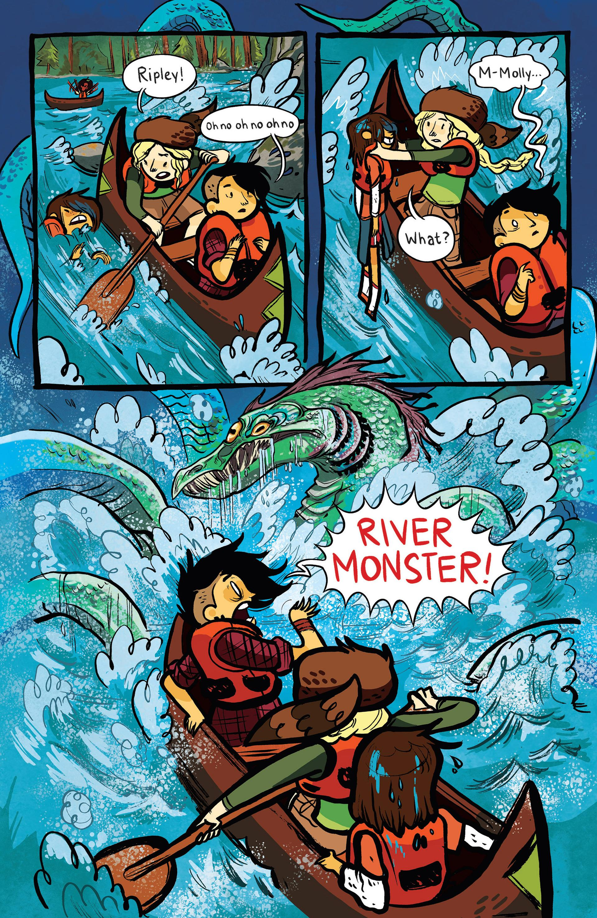Lumberjanes to the Max review