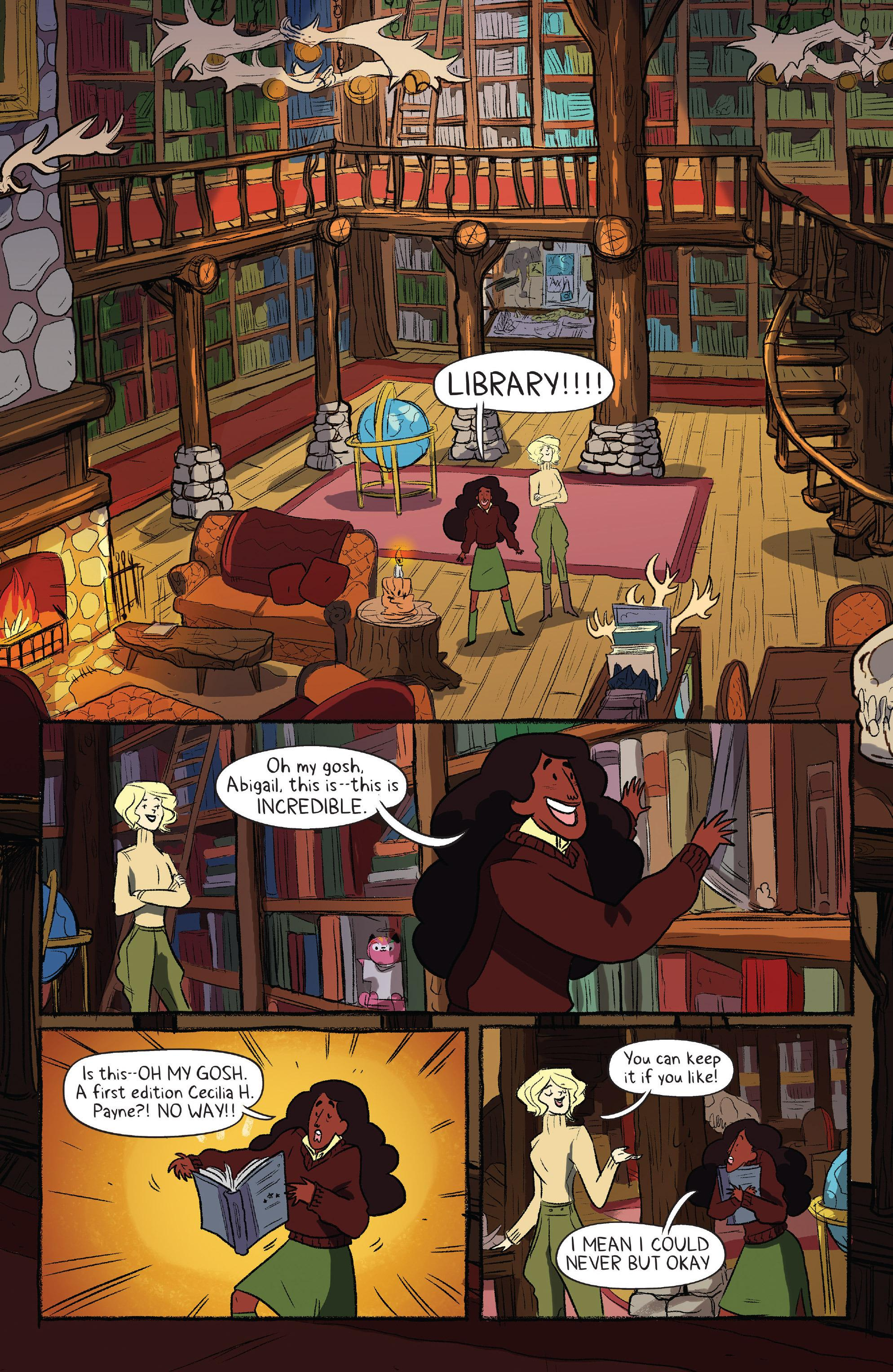 Lumberjanes Out of Time review