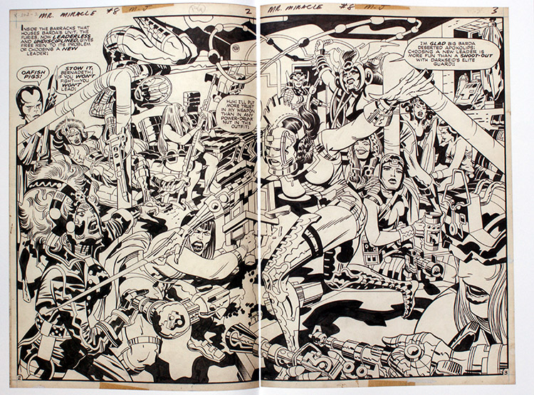 Jack kirby Mr Miracle Artist's Edition review