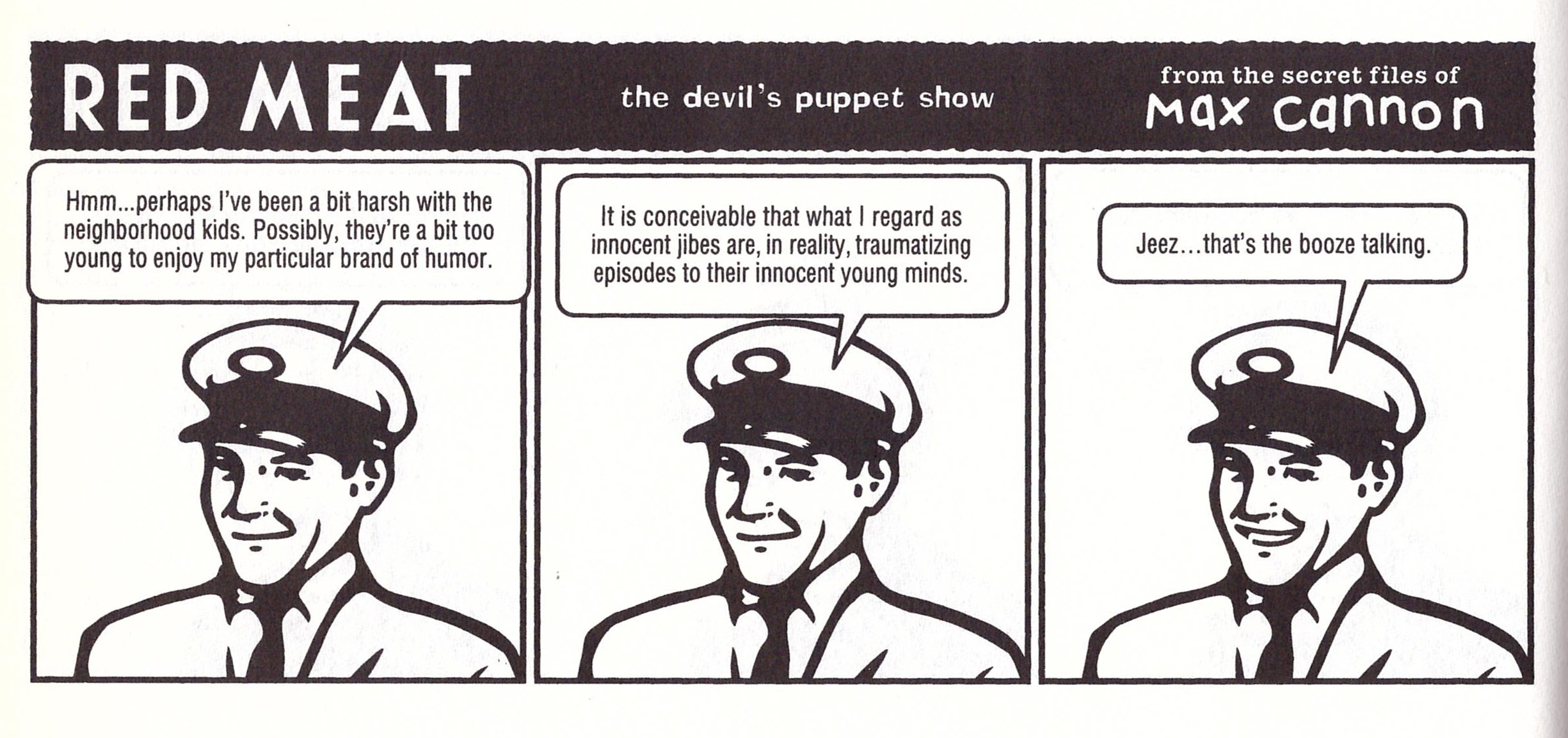 Red Meat graphic novel review