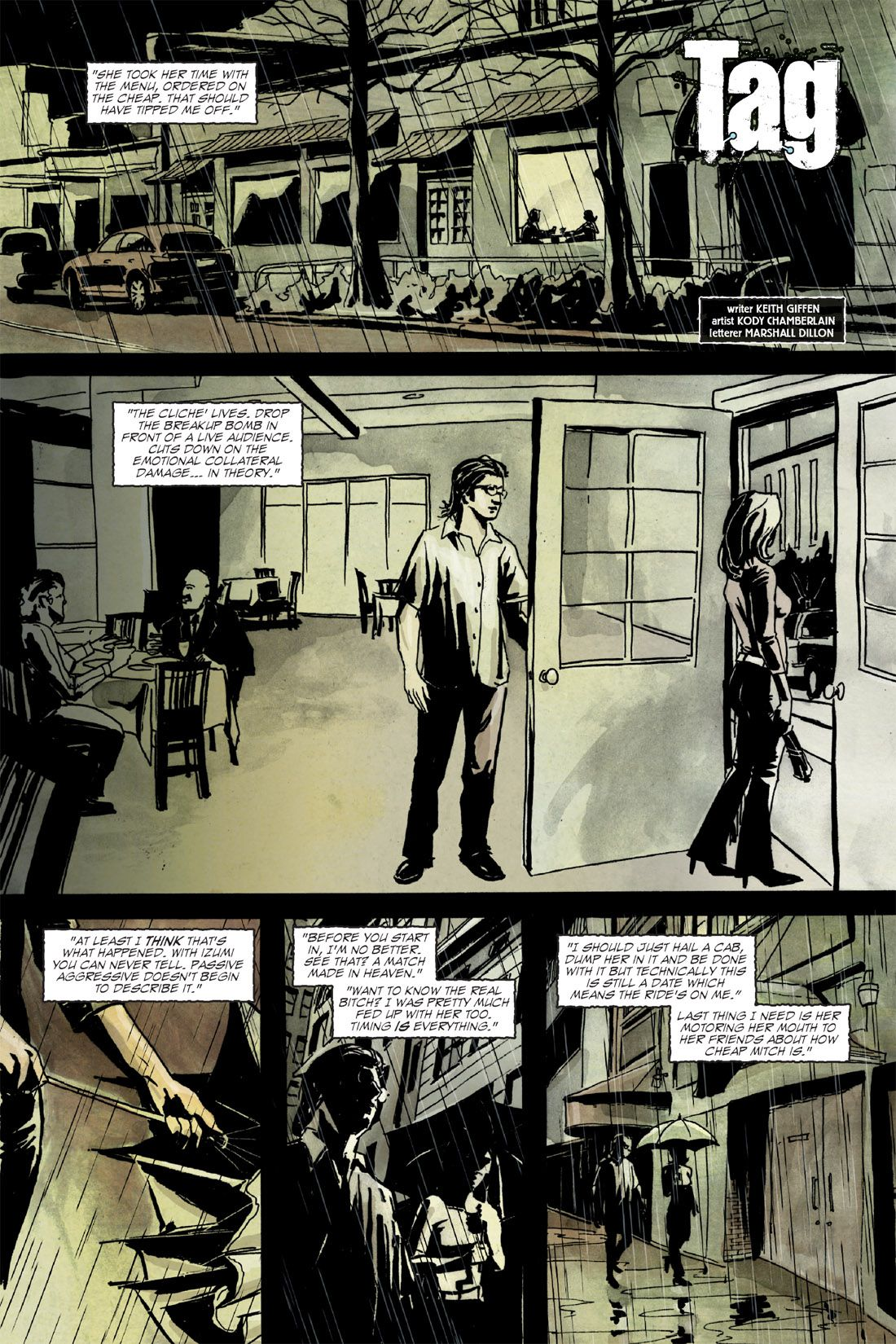 Tag graphic novel review
