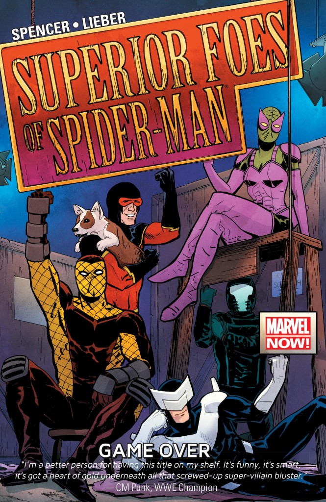 The Superior Foes of Spider-Man: Game Over