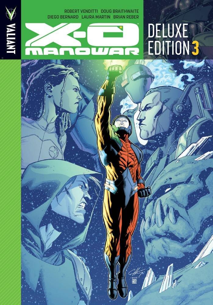 X-O Manowar: Deluxe Edition 3