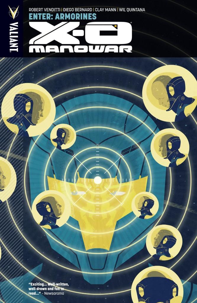 X-O Manowar: Enter Armorines