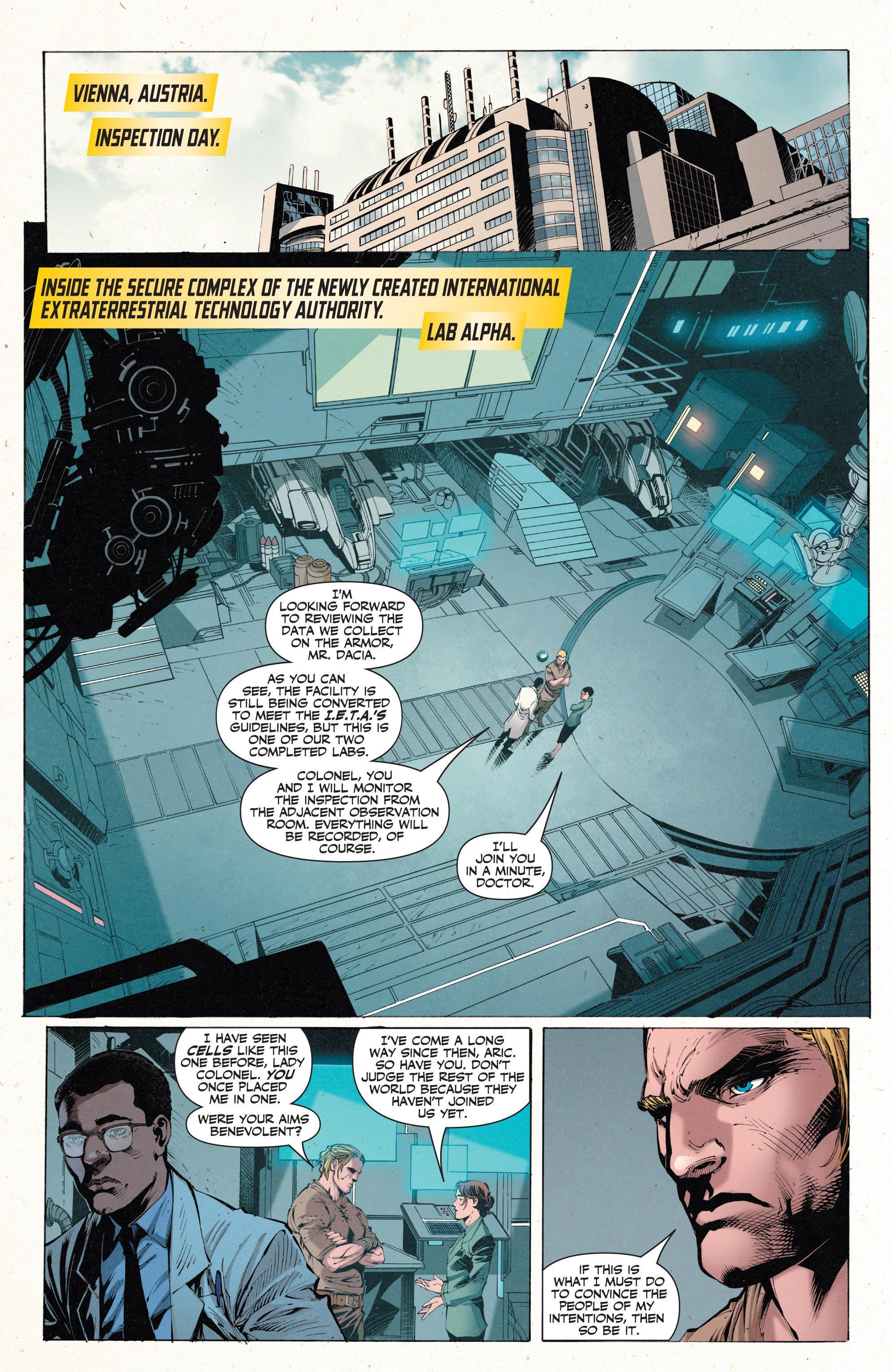 X-O Manowar Enter Armorines review