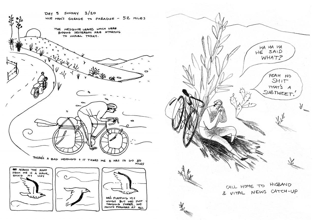 Resultado de imagen para bike road eleanor davis koyama press