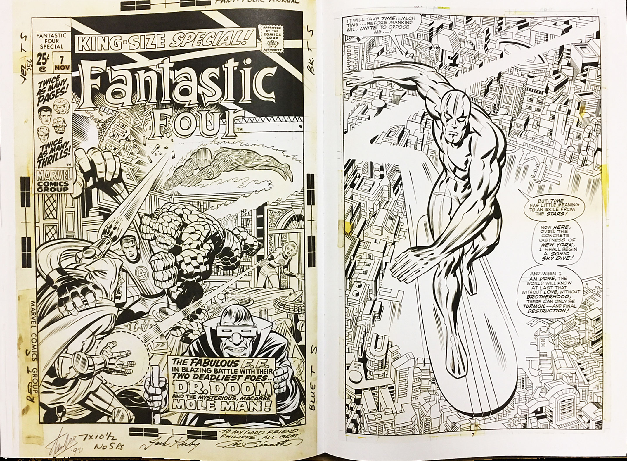 Jack Kirby's Fantastic Four Artist's Edition review