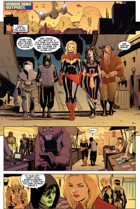 Captain Marvel Earths Mightiest Hero volume 3 review sample image