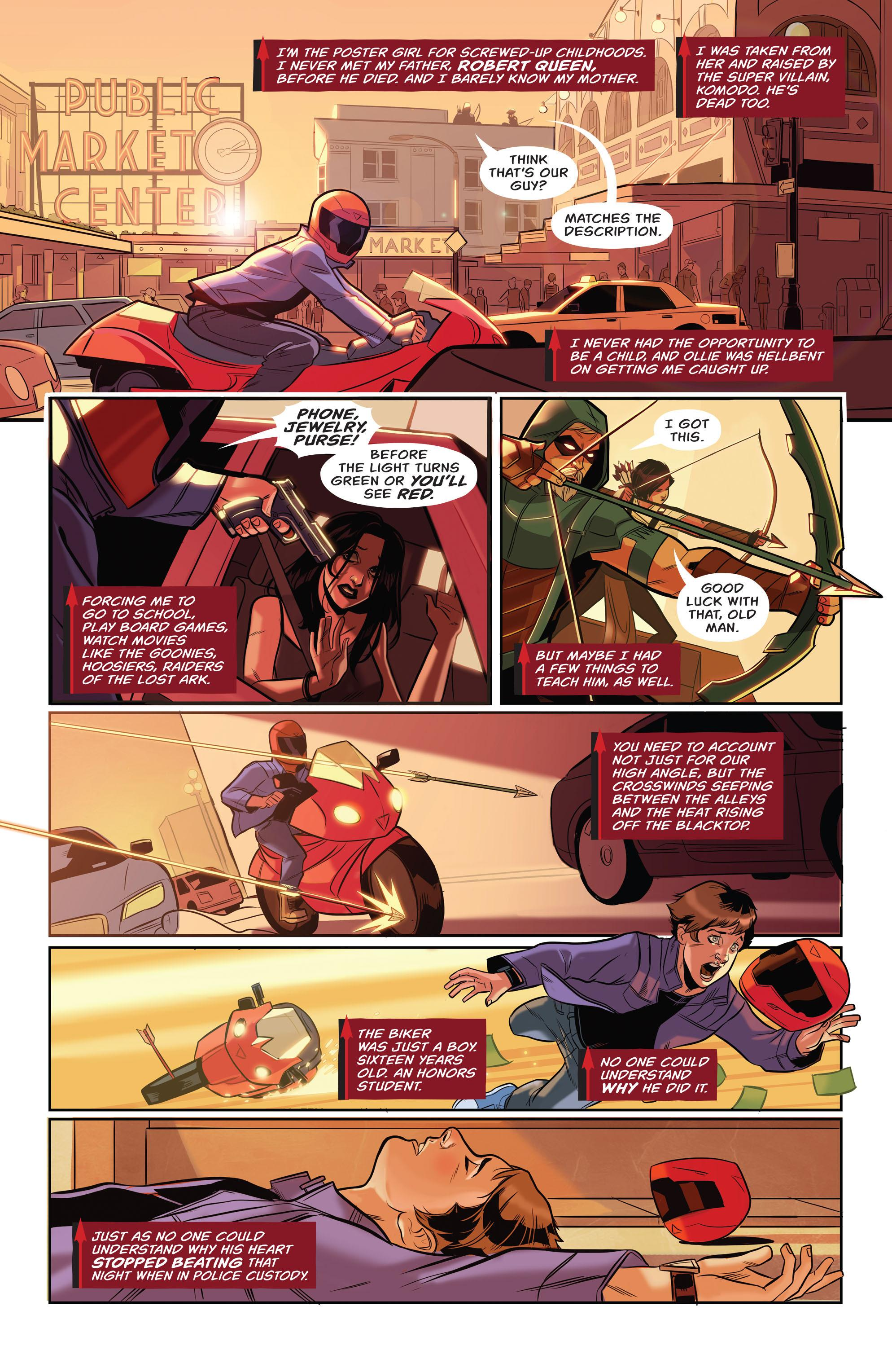 Green Arrow Island of Scars review