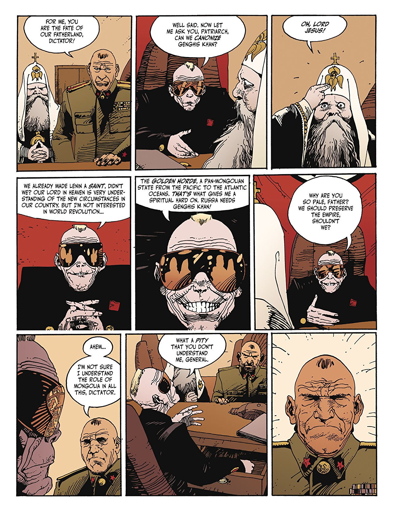 Jihad graphic novel review