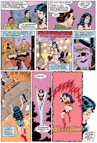 Wonder Woman by George Perez volume 2 review sample image