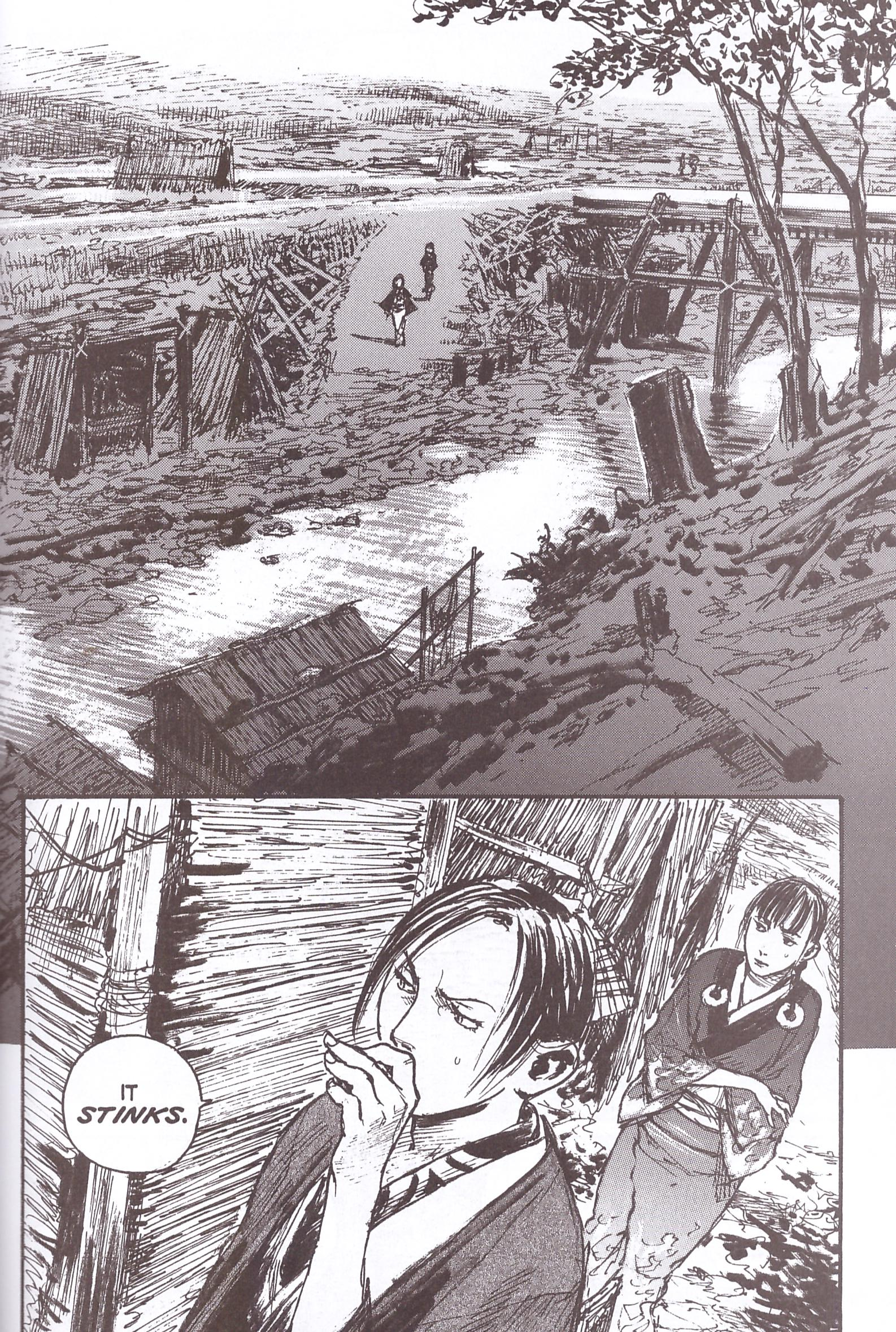 Blade of the Immortal 17 On the Perfection of Anatomy review
