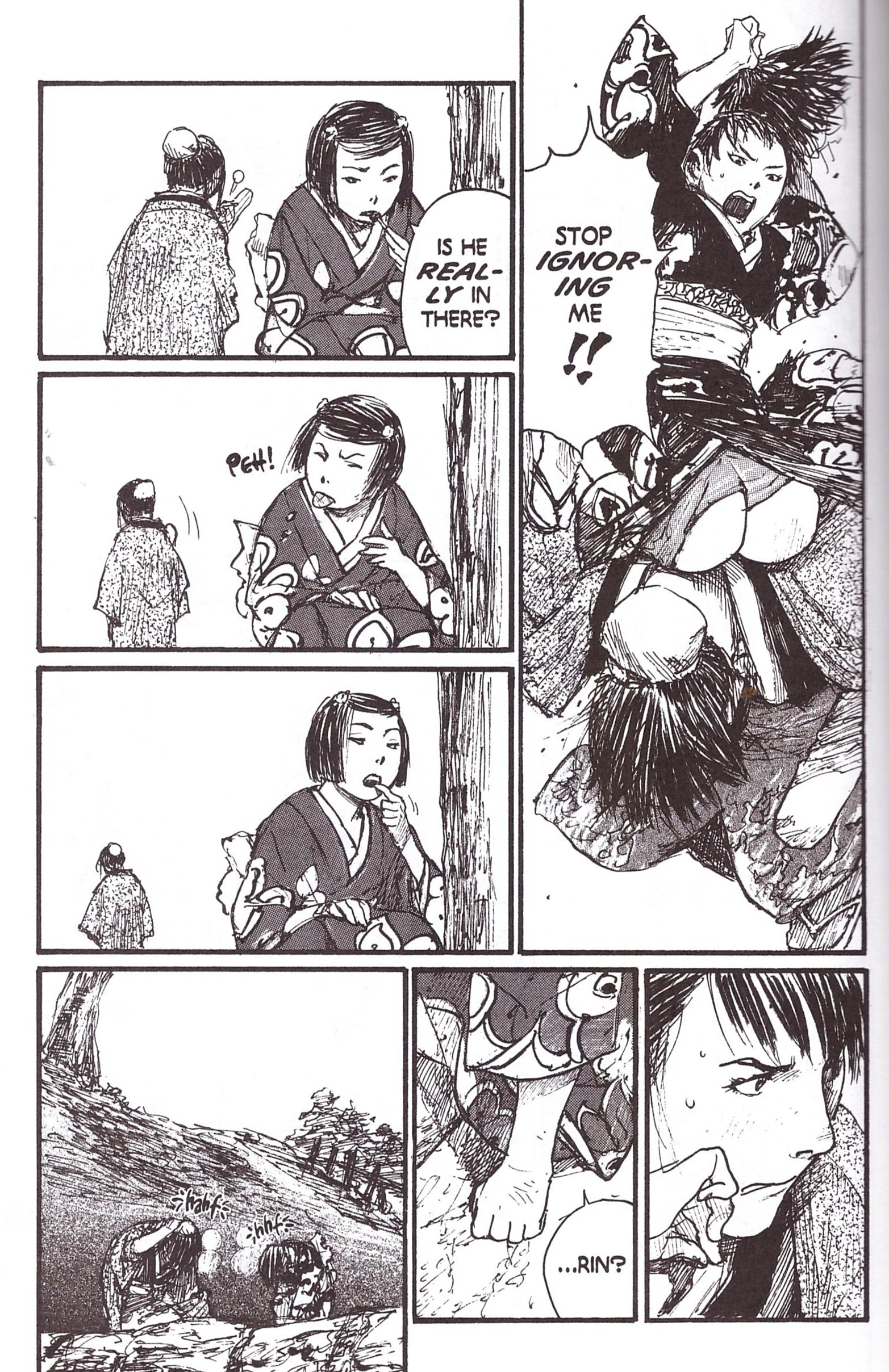 Blade of the Immortal 18 The Sparrow Net review