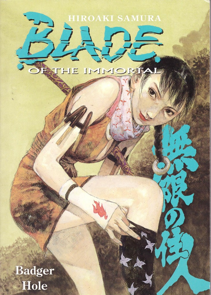 Blade of the Immortal 19: Badger Hole