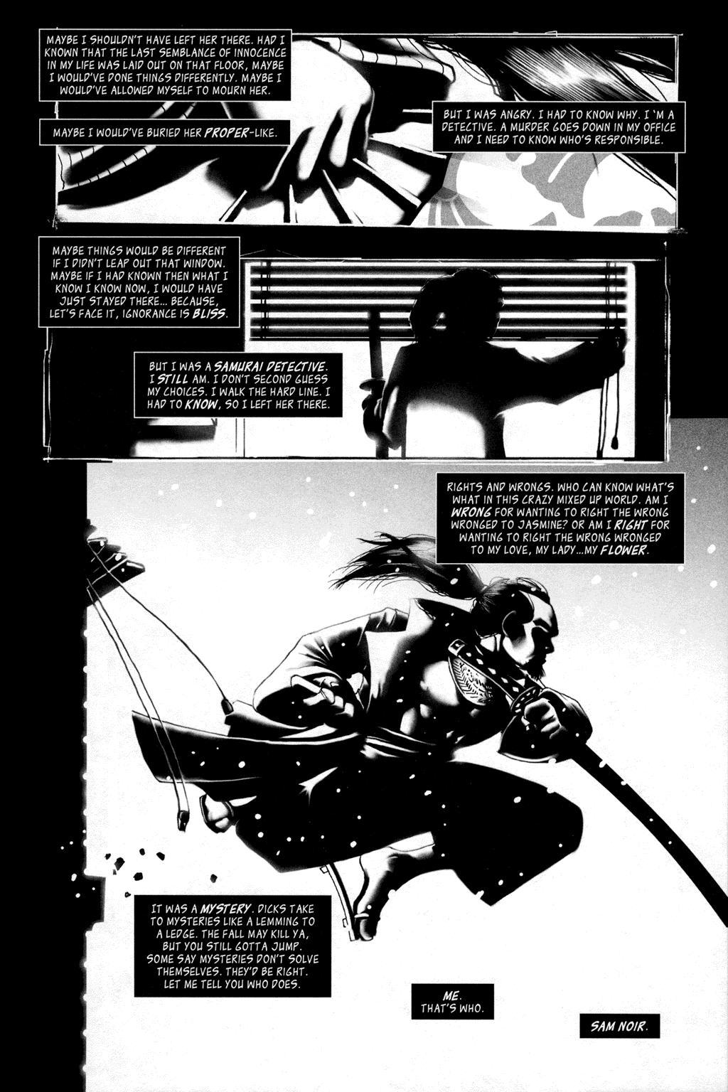 Sam Noir - Samurai Detective review