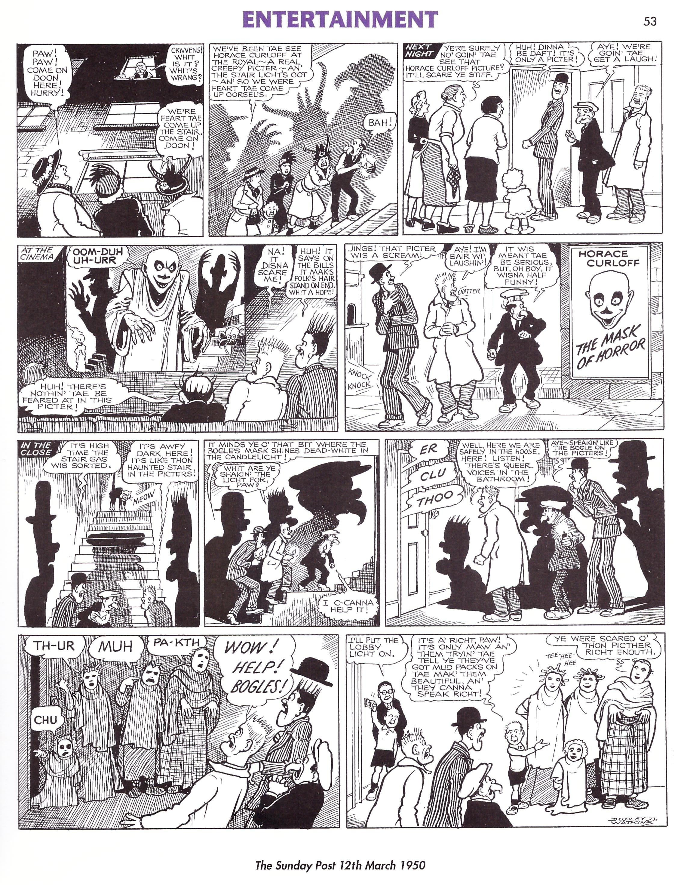 The Broons & Oor Wullie A Nation's Favourites review
