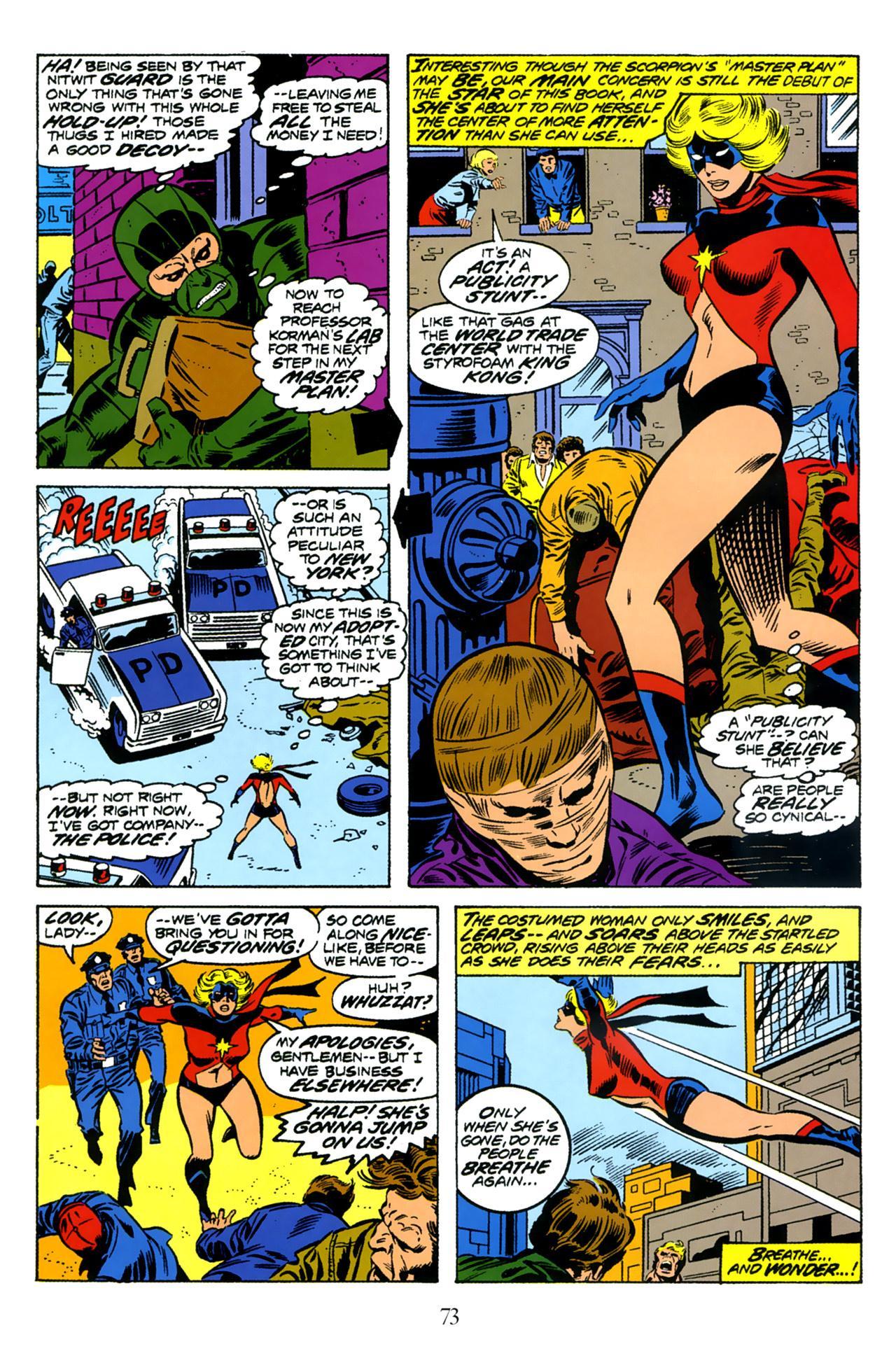 Women of Marvel v1 review