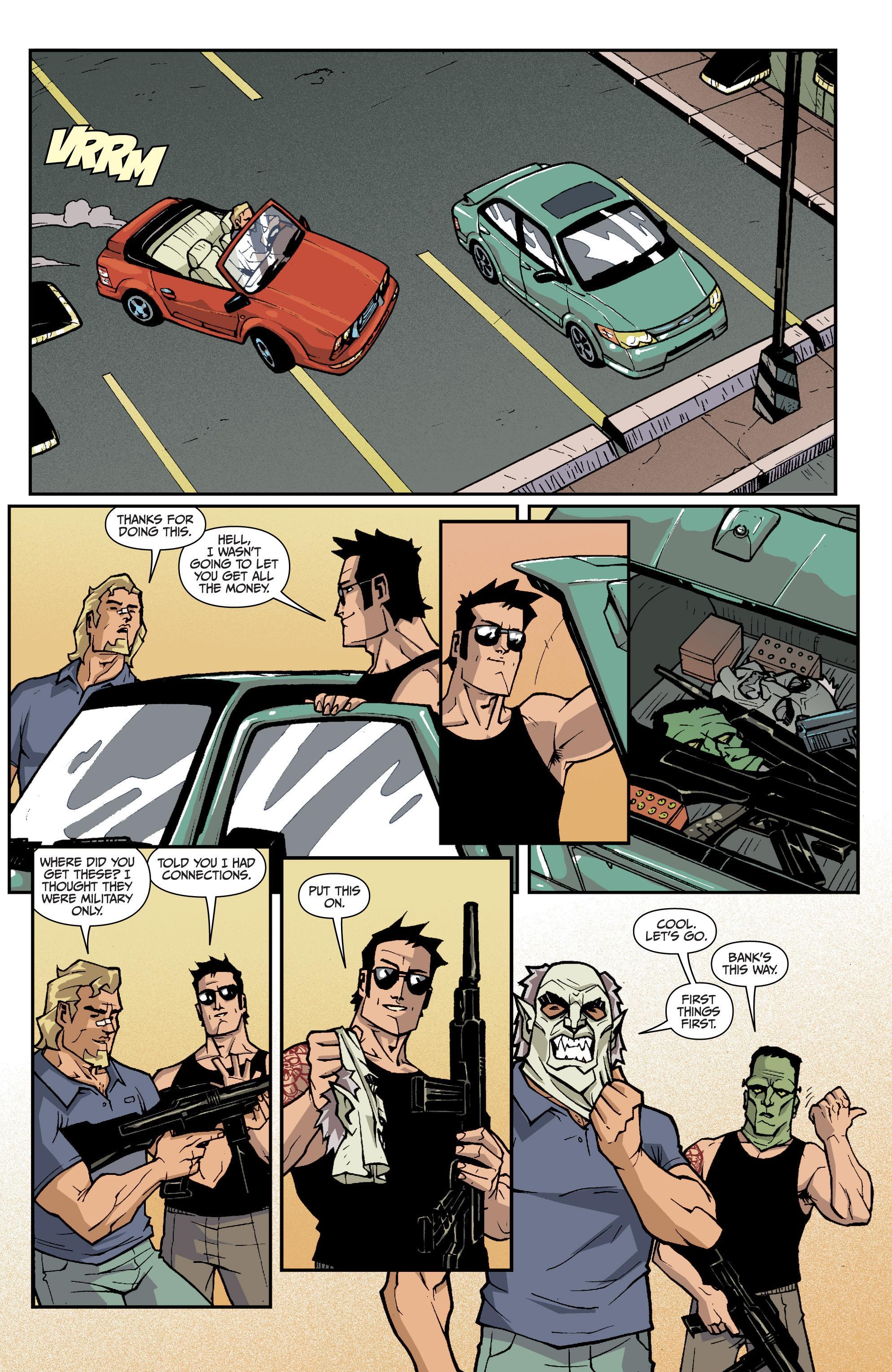 2 Guns Graphic novel review