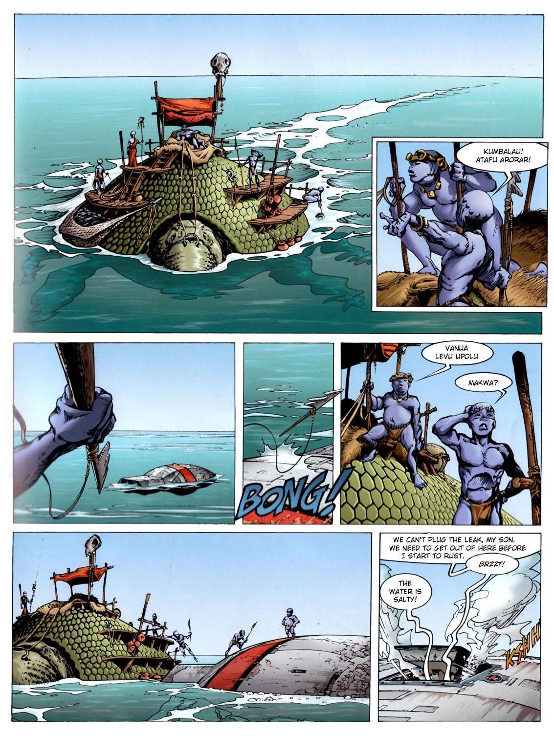 Aquablue graphic novel review