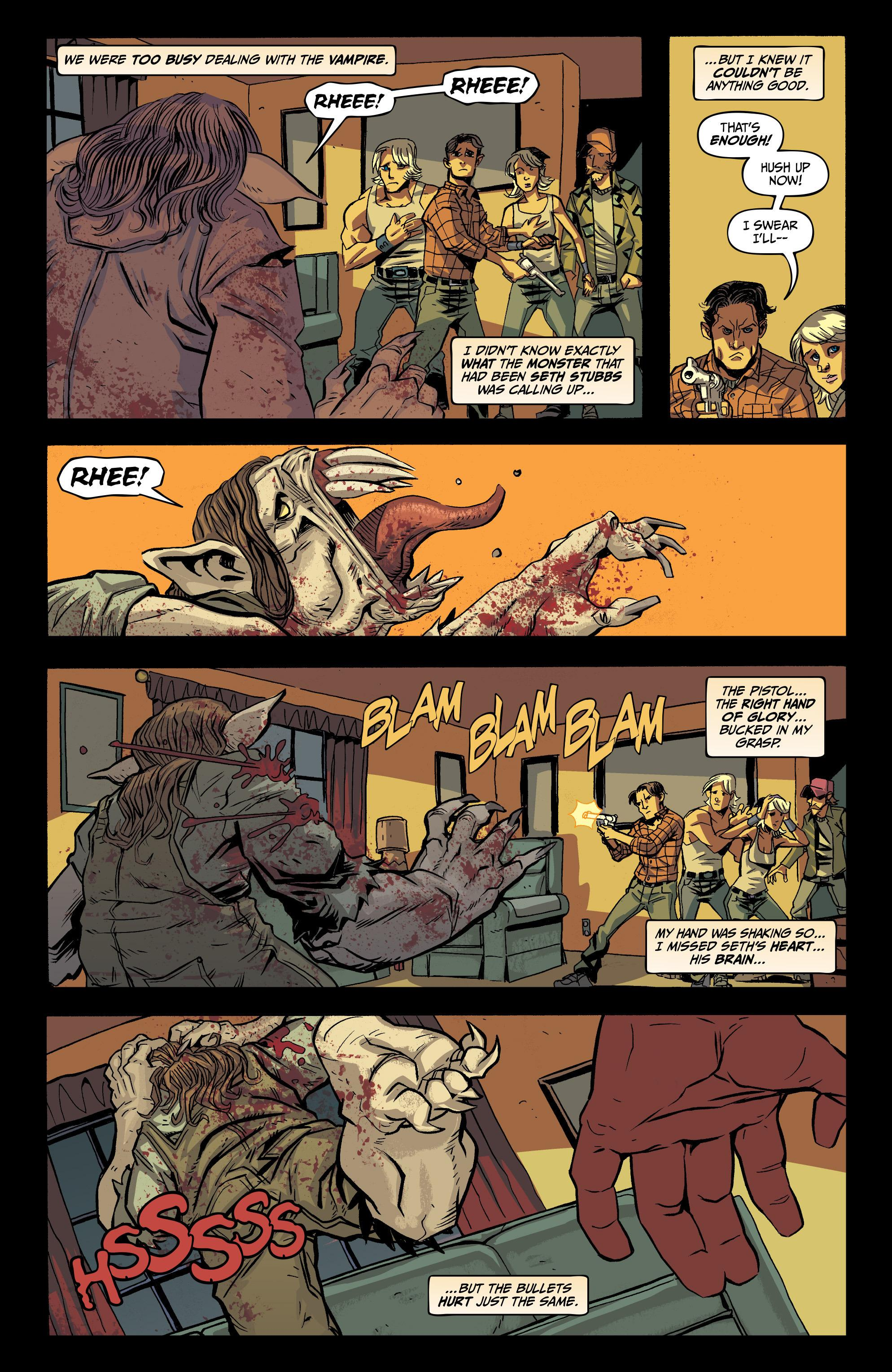 Blood Feud graphic novel review