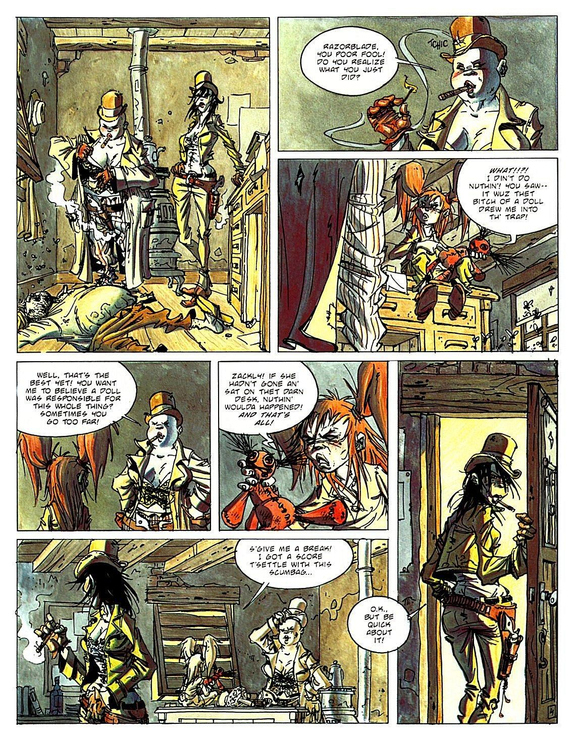 Desperadoes graphic novel review