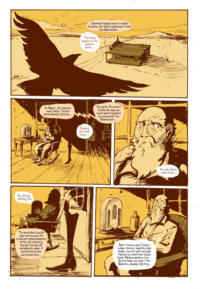 The Leg graphic novel review