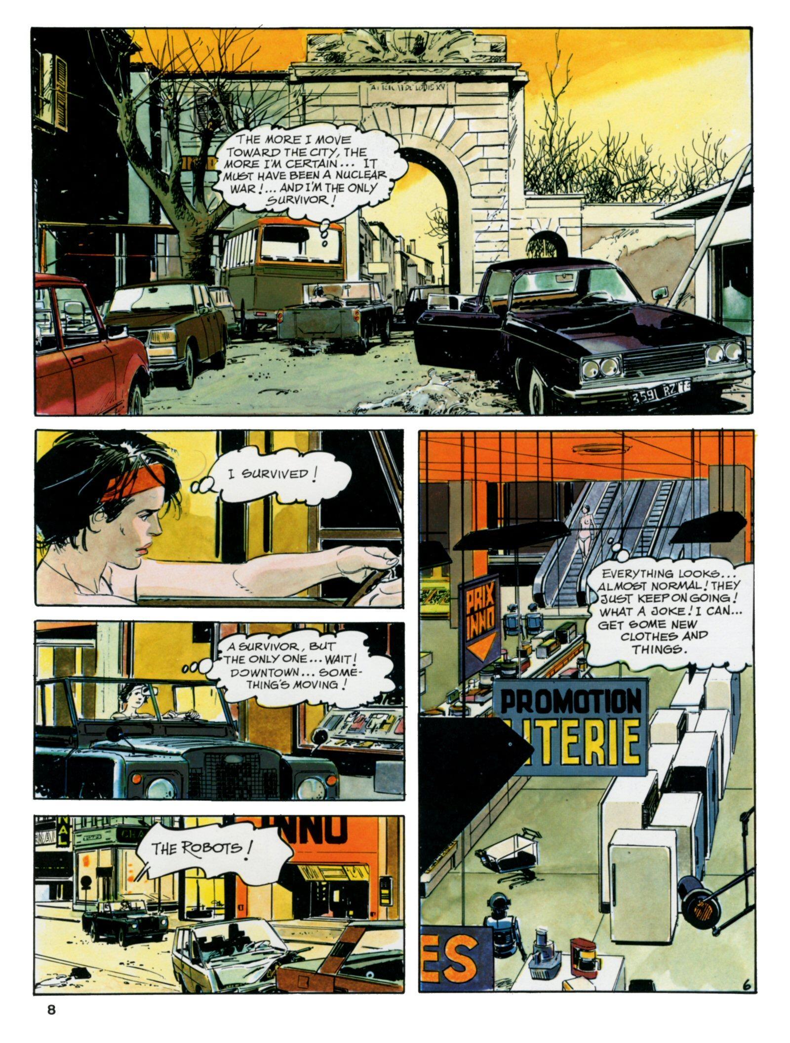 The Survivor graphic novel review