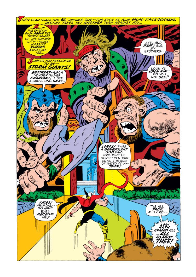 Marvel Masterworks Thor vol 10 review