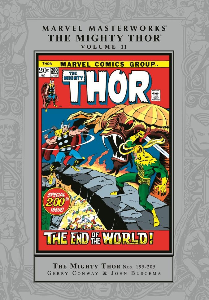 Marvel Masterworks: The Mighty Thor Volume 11