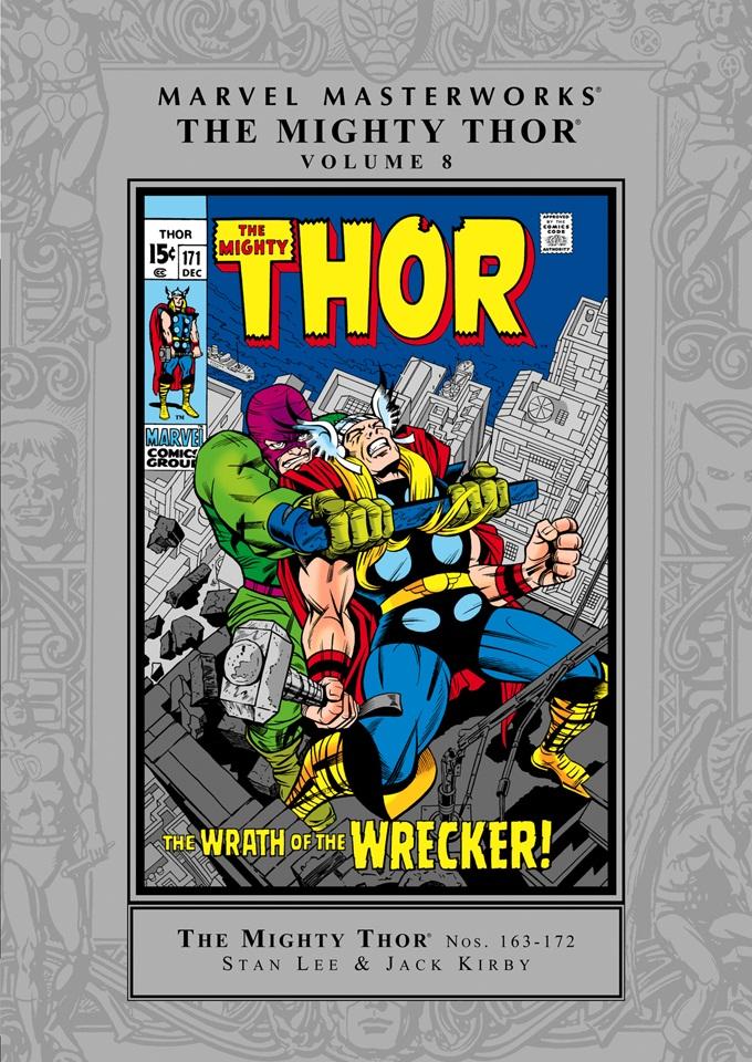 Marvel Masterworks: The Mighty Thor Volume 8
