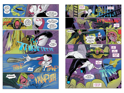 Spider-Gwen Most Wanted? review