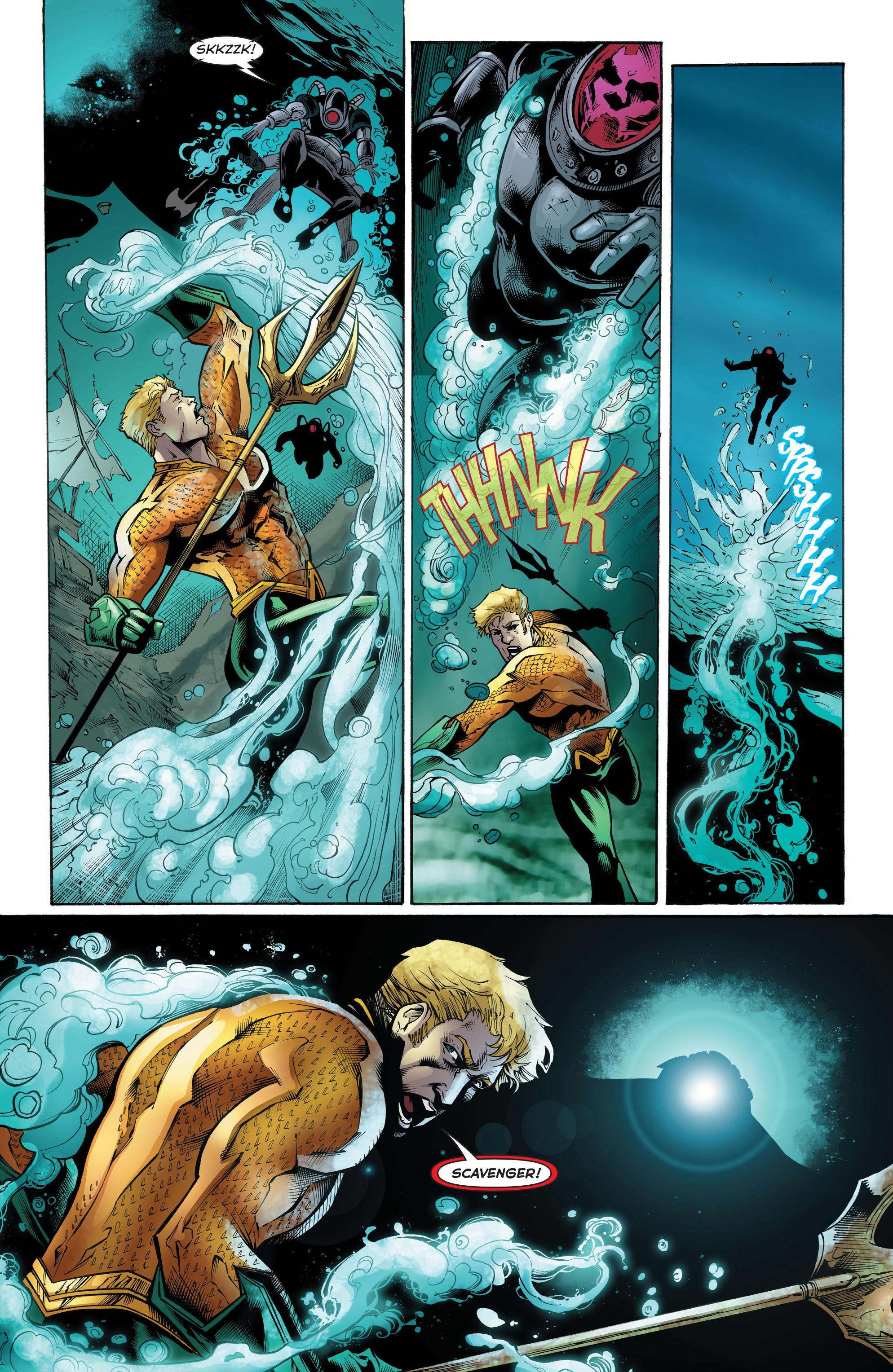 Aquaman Out of Darkness review