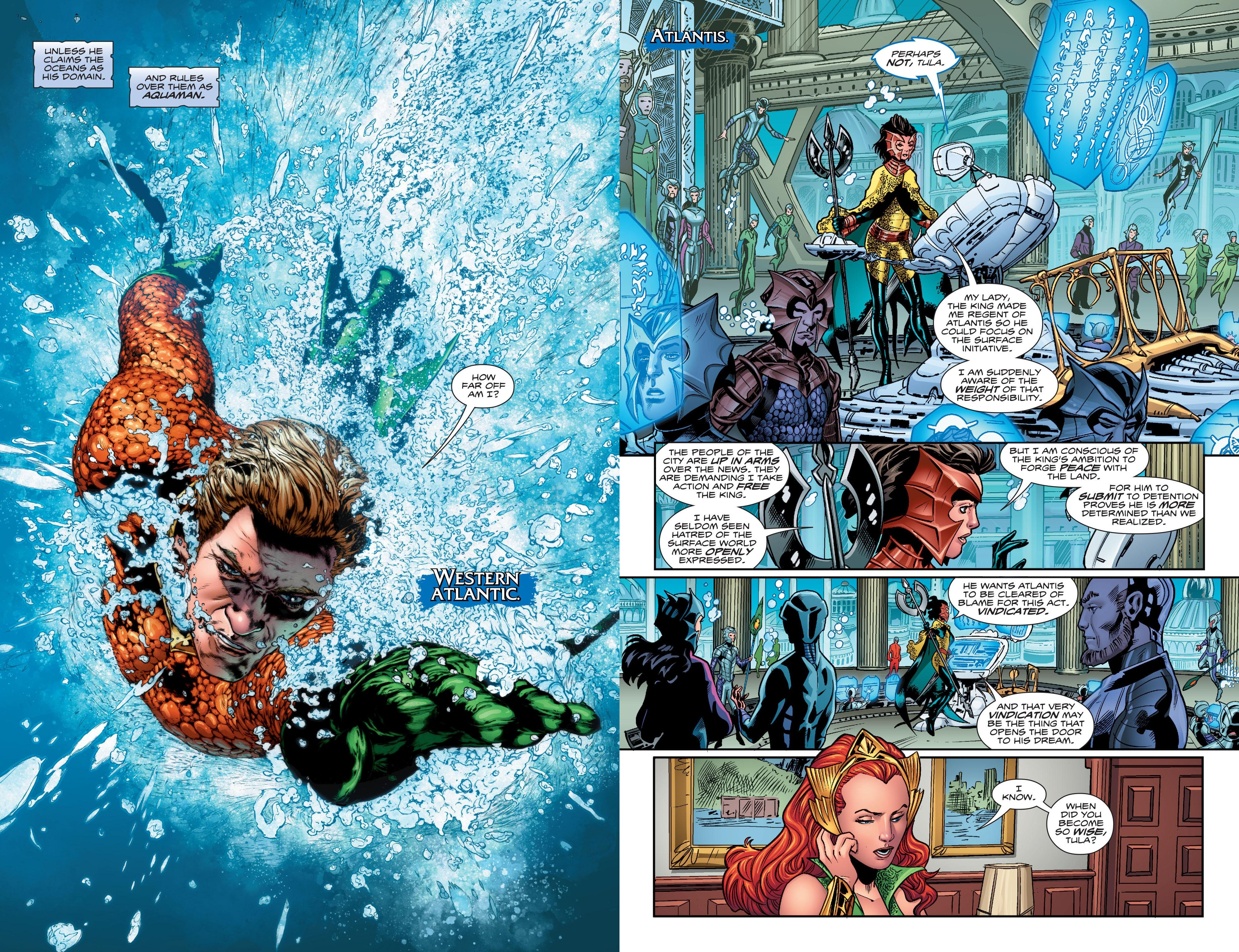 Aquaman The Drowning review