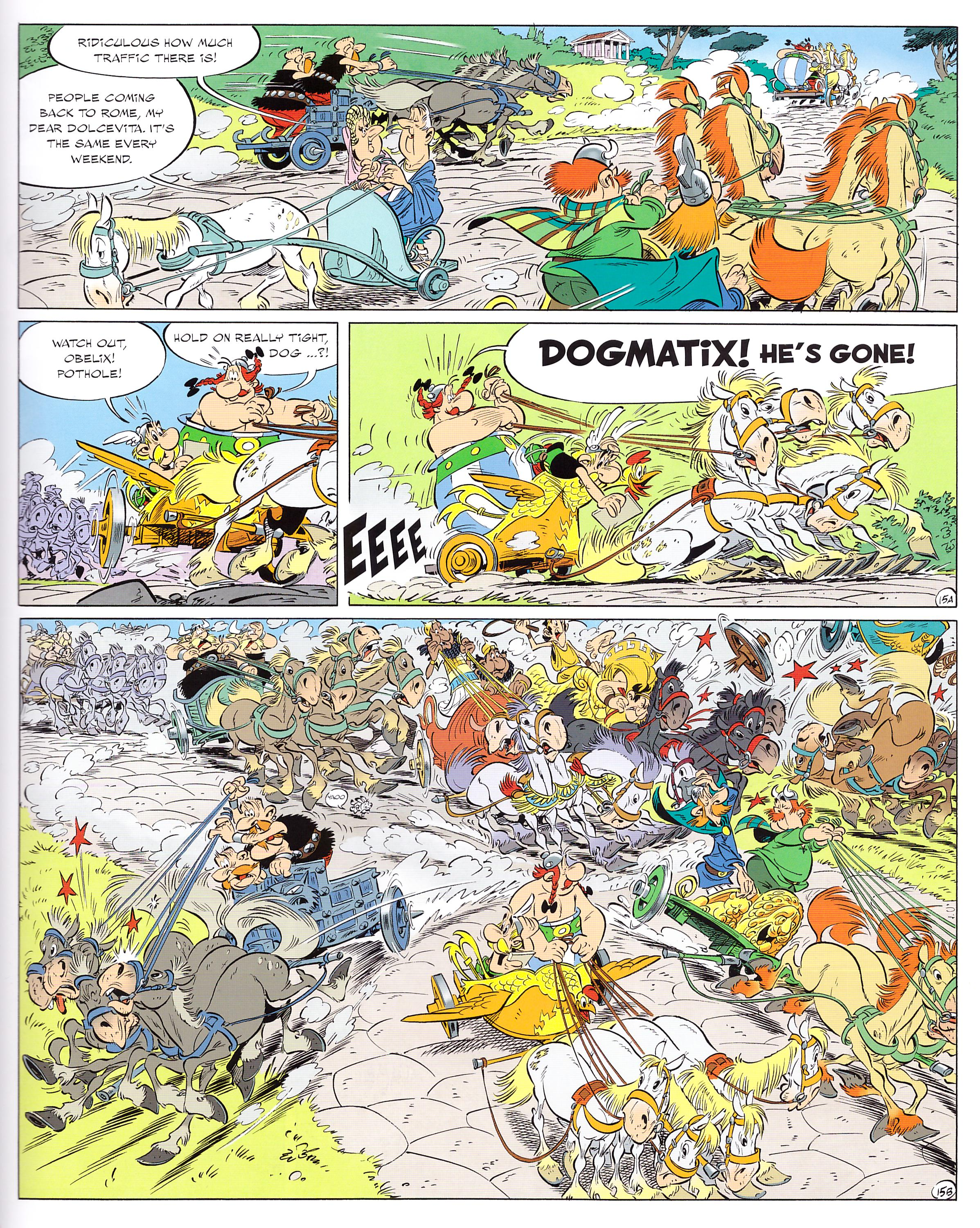 Asterix and the Chariot Race review