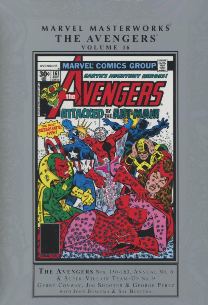 Marvel Masterworks: The Avengers Volume 16