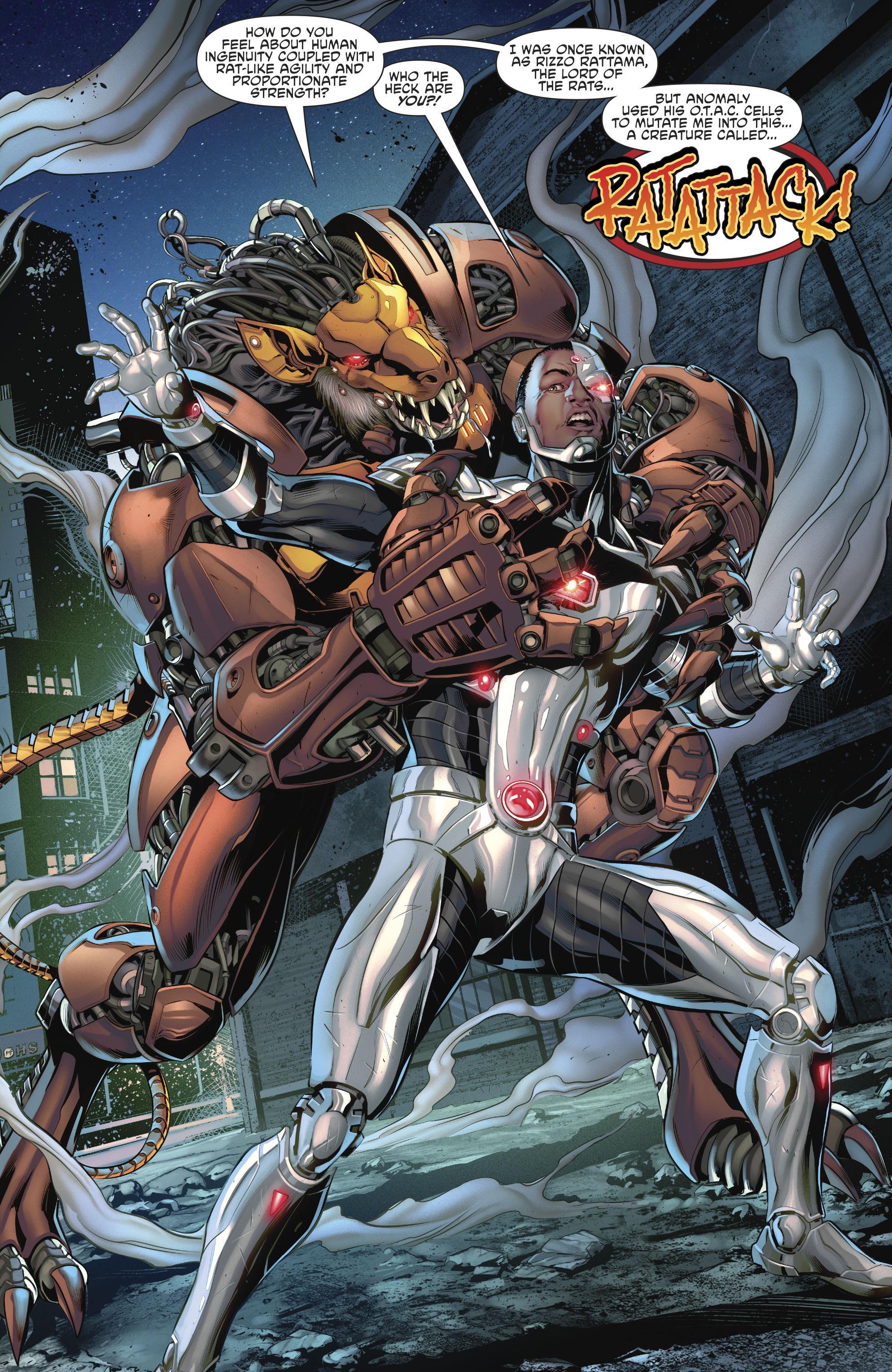 Cyborg Danger in Detroit review