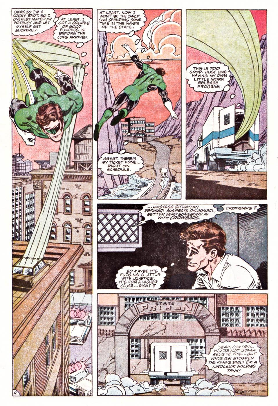 Green Lantern Emerald Dawn II revierw