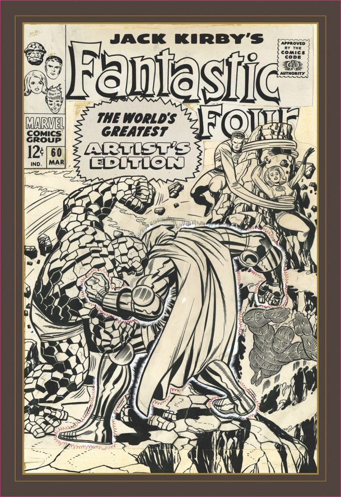 Jack Kirby's Fantastic Four: The World's Greatest Artist's Edition