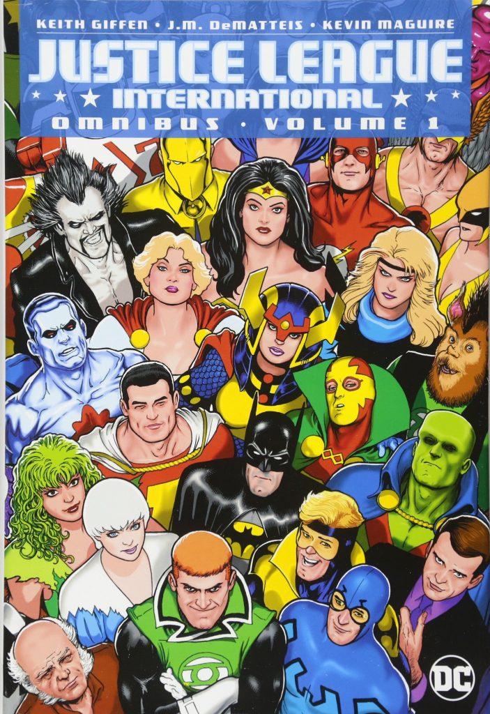 Justice League International Omnibus Volume One