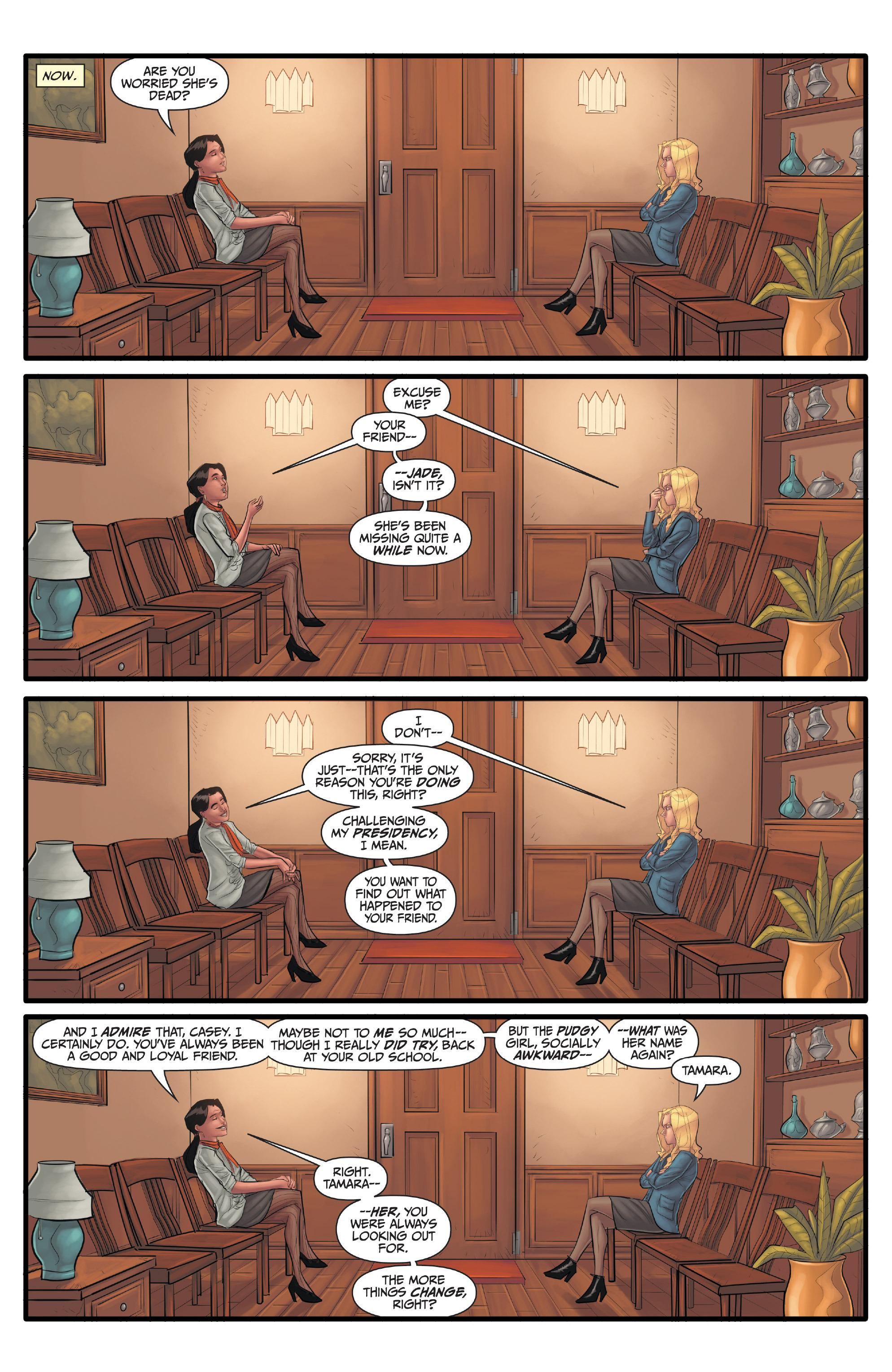 Morning Glories Expulsion review
