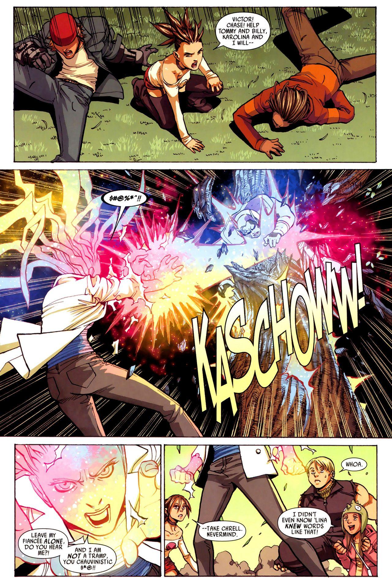 Runaways Young Avengers Secret Invasion review