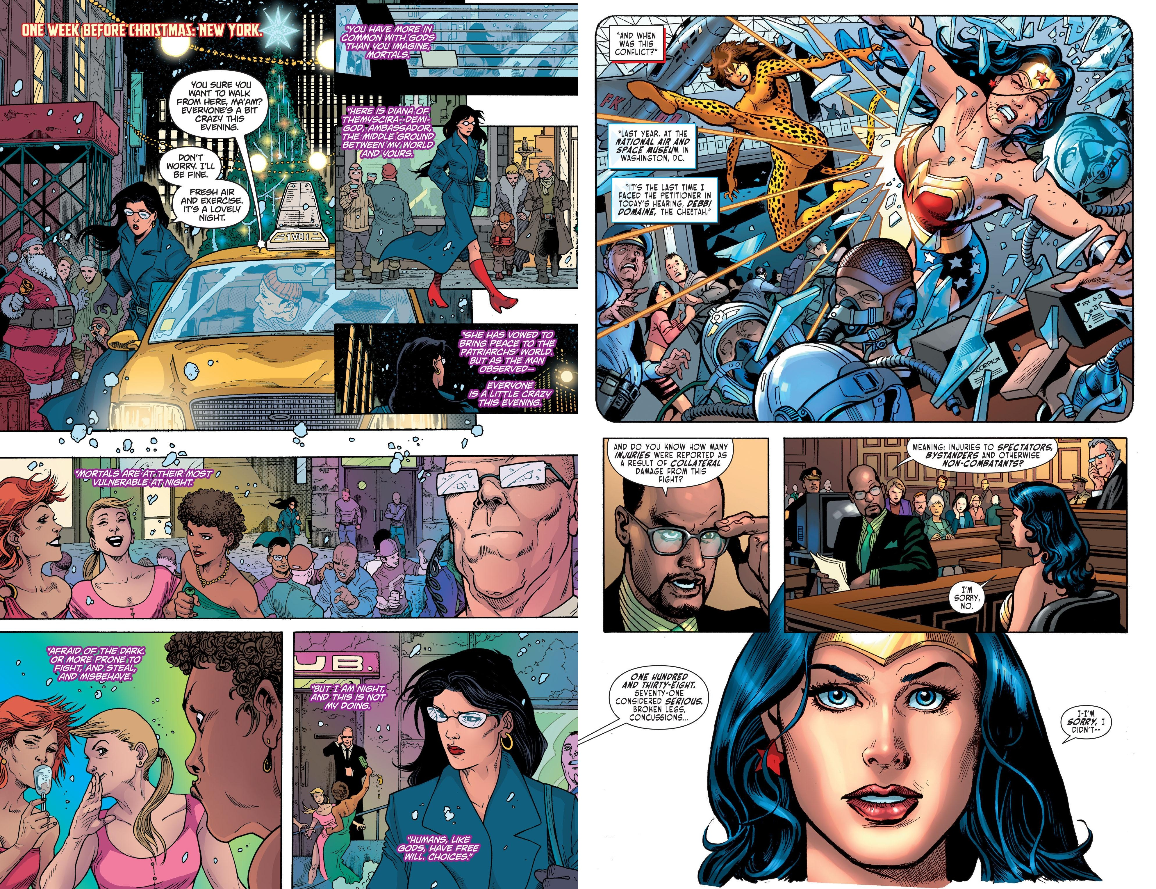 Sensation Comics Featuring Wonder Woman V3 review