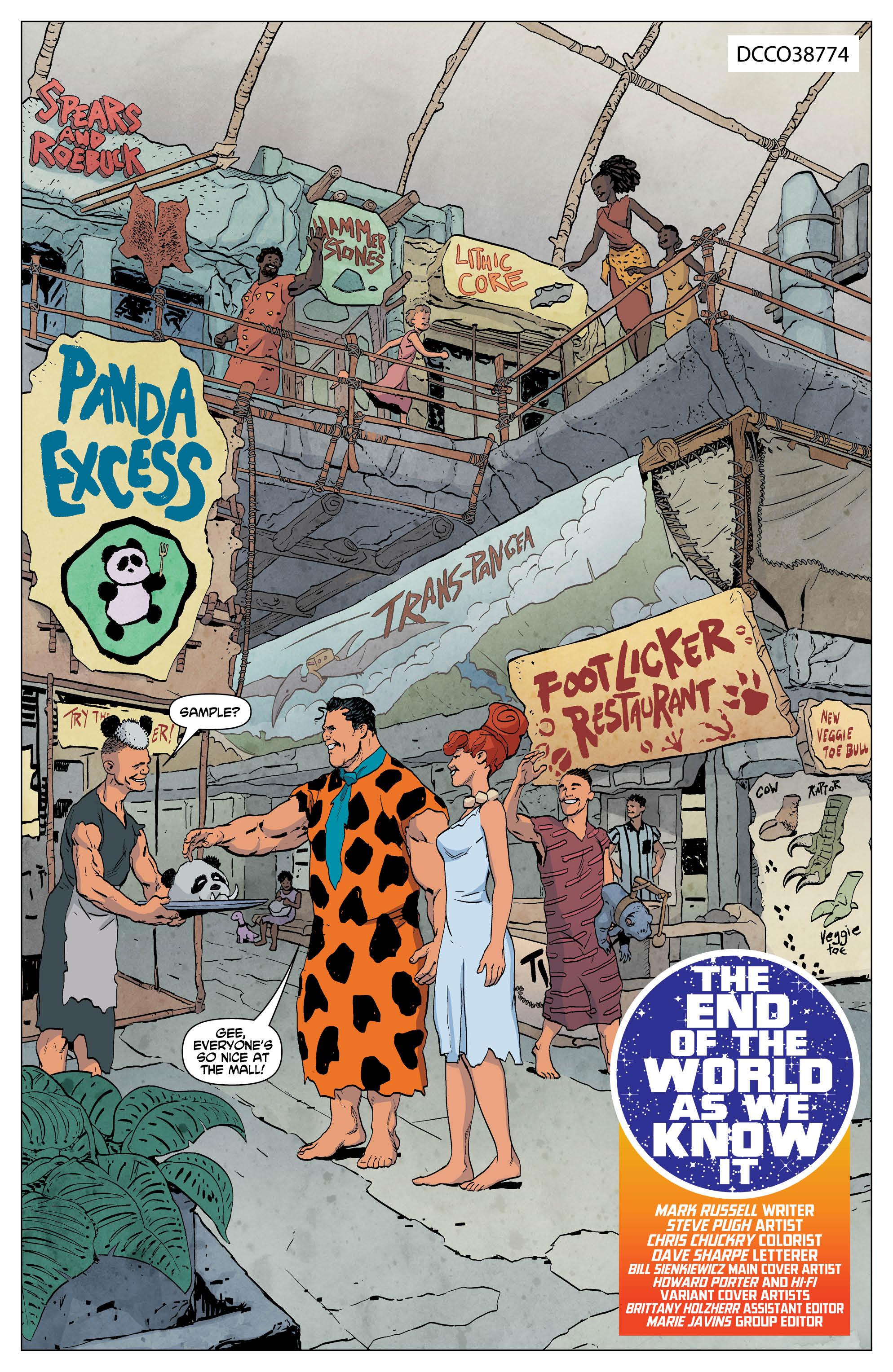 The Flintstones vol 1 review