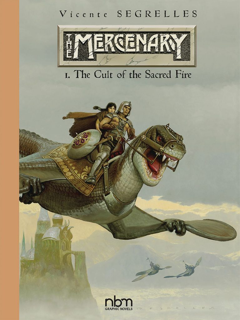 The Mercenary: 1. The Cult of Sacred Fire