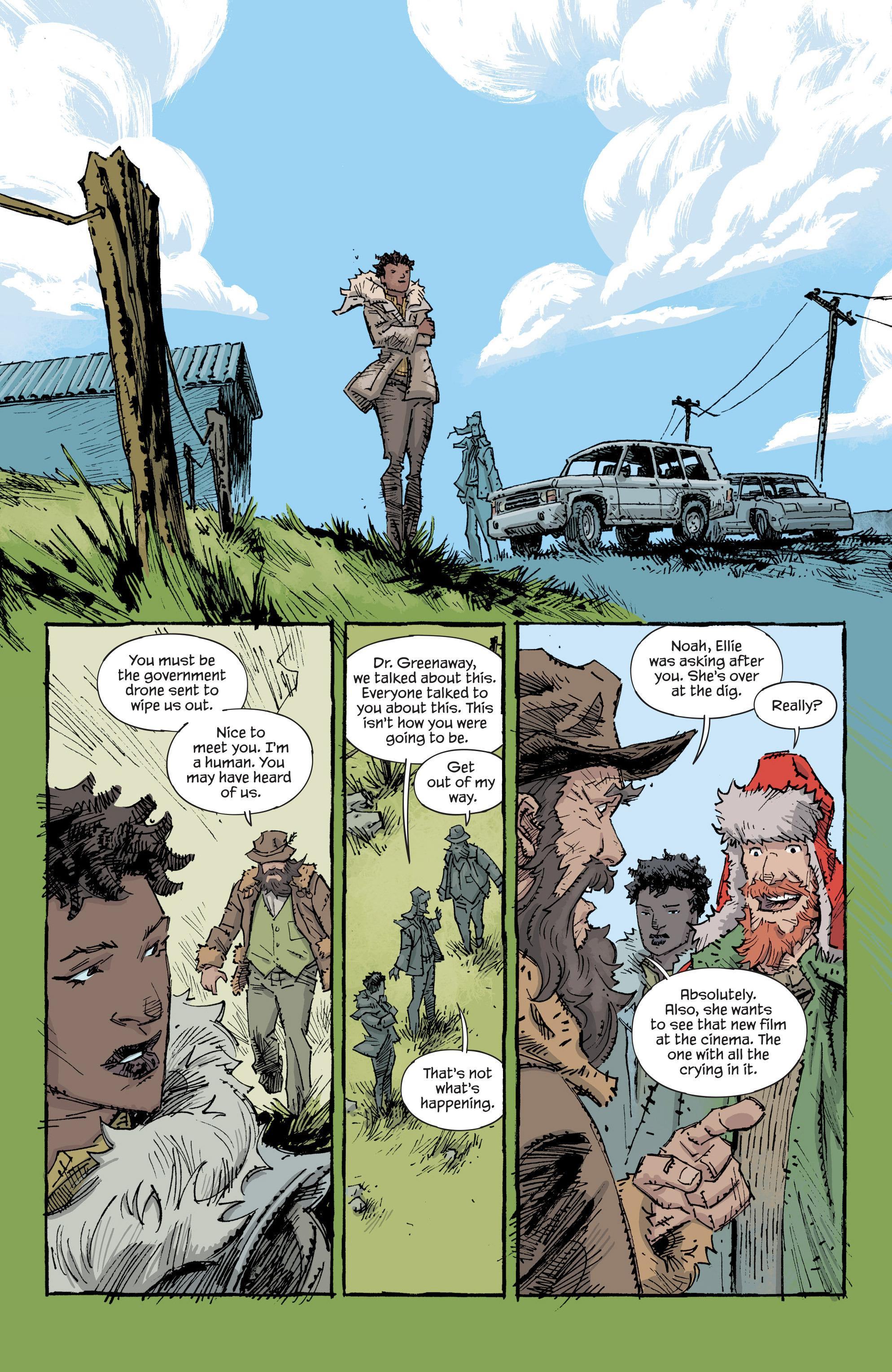 Trees vol 2 graphic novel review