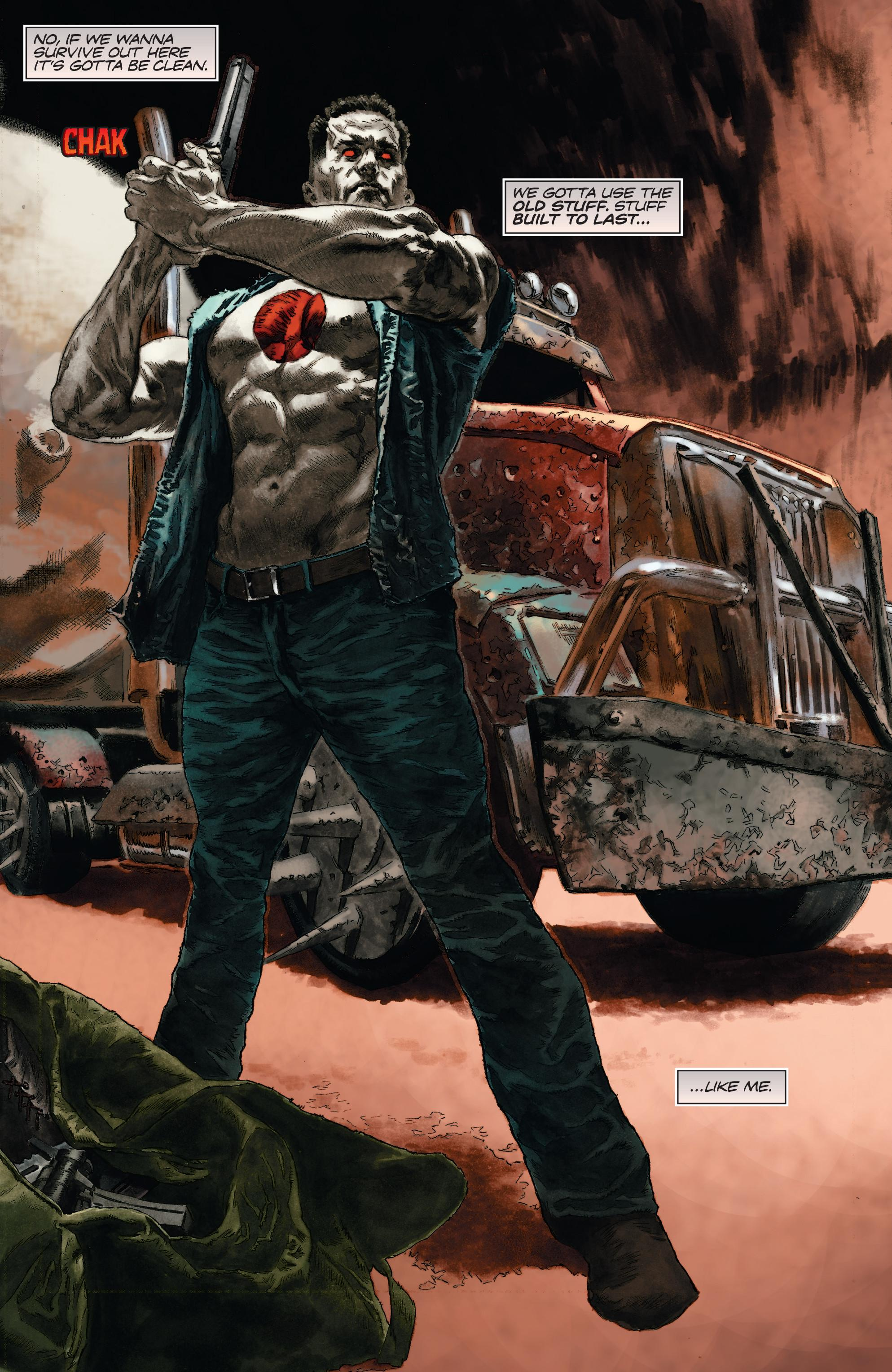 Bloodshot Reborn The Analog Man review